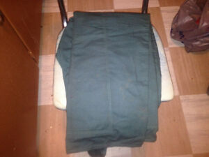 For sale, NEW, power saw pants34/36, work safe approved