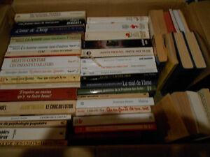 Lot de 48 livres, très bon état - 1$ ch, sauf indication contrai
