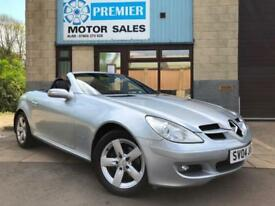 2004 MERCEDES SLK200 1.8 KOMPRESSOR AUTO CONVERTIBLE, FULL LEATHER, CRUISE