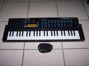 CASIO TONE BANK MA-101 MUSIC KEYBOARD ...w/adapter