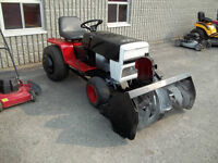 MTD Lawn Tractor With Mower Deck And Snowblower Attachment