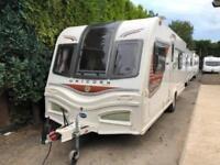 2014 Bailey Unicorn Valencia 4 Berth caravan FIXED BED, Awning VGC Bargain !