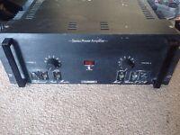 Turner B502XLR Studio Power Amplifier