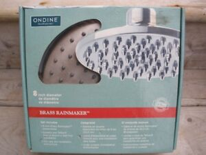 """New In Box 8"""" Shower Head"""