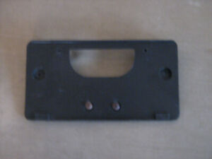 GMC SIERRA pickup 03-06 FRT LICENSE PLATE BRACKET