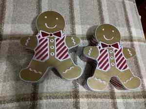 2 Gingerbread Tins $4