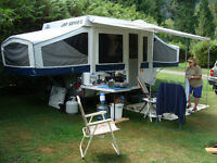 Jay Series Model Jayco 1007 tent trailer