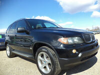 2004 BMW X5 3.0i SPORT PKG-H/LEATHER-SUNROOF---AMAZING SHAPE