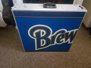 Brewhouse beer pong table