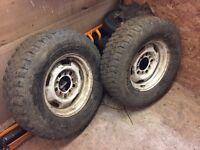 4x4 Suzuki wheels sj