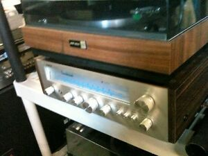 Vintage AUDIO REFLEX Receiver & Turntable with ADVENT speakers