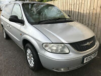 2002 52 Chrysler Grand Voyager 2.5 CRD LX DIESEL MANUAL 7 SEATS 44.1 MPG P/X