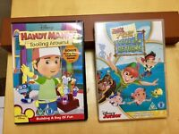 Disney Junior DVD's x 3 in excellent condition