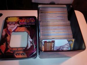 naruto ccg card lot of over 400