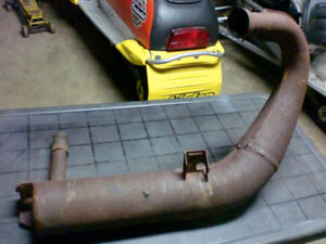 Indy 500 exhaust pipe in good shape 1990