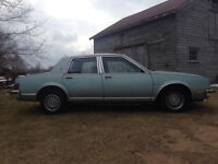 1982 Buick Skylark with only 55 KMS