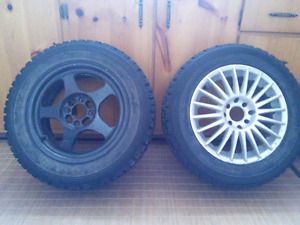 """7 mags 15""""x6.6"""" 4x100"""