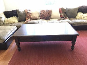 COFFEE TABLE, DINING TABLE