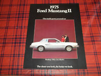 BROCHURE AUTO FORD MUSTANG 2 ( 1975 )