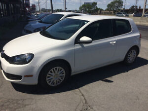 2012 VOLKS GOLF 2 DOOR COUPE