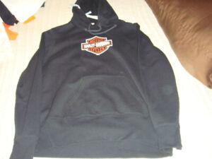 Harley Davidson black hoodie
