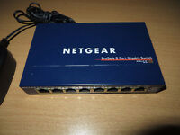Nettgear Prosafe 8 Port Gigabit Switch Model GS108 v3