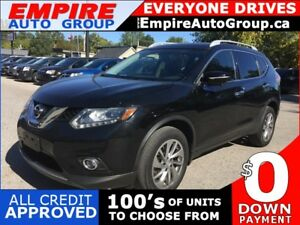 2014 NISSAN ROGUE SL * AWD * LEATHER * NAV * REAR CAM * PANO SUN