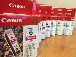 Canon inkjet inks