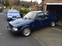 Ford Orion , rare with no sunroof .... Rs turbo sleeper, retro ?