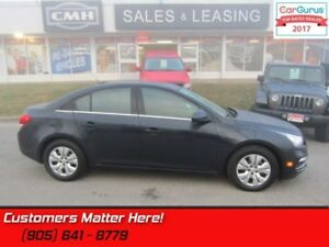 "2016 Chevrolet Cruze Limited LT w/1LT  SUNROOF, CAMERA, 7"" SCREE"