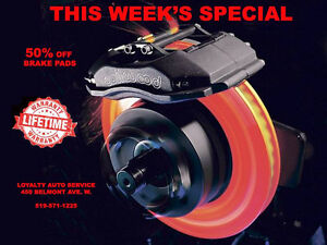 Get your car ready for winter - WINTER TIRES - BRAKES 50% OFF Kitchener / Waterloo Kitchener Area image 2