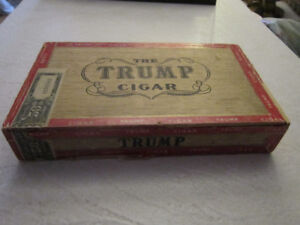BOÎTE DE COLLECTION ... CIGAR TRUMP