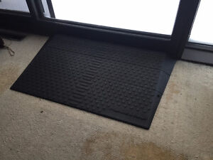 Solid Rubber Threshold Ramp