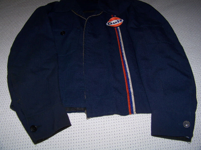 Gulf Gas Station Service Attendant Jacket, made in Canada
