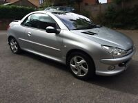 Peugeot 206cc 1.6 for sale