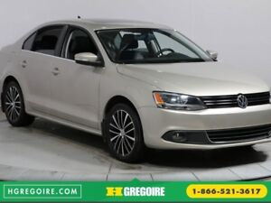 2013 Volkswagen Jetta Highline A/C GR ELECT CUIR MAGS TOIT OUVRA