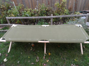Byer of Maine Camping Cot Military-Style
