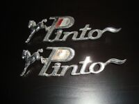 Pinto Emblems for front fenders