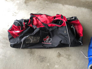 Hockey wheeled bags all $20 each or 2 for $30 or $40 for all