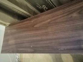 Veneer walnut effect furniture
