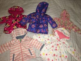 Baby girls coat bundle (6-9 months and 9-12 months)