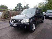Honda CR-V 2.0 ES Station Wagon 5dr (sun roof, a/c) LADY OWNER FOR THE LAST 14 YRS (black) 2001