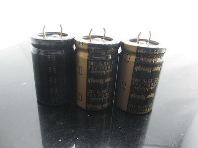 2pcs Nichicon Kg Super Through Typeiii 3300uf 25v 3300mfd Audio Capacitor