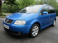 Volkswagen Touran Sport TDi 7 Str DIESEL MANUAL 2004/54