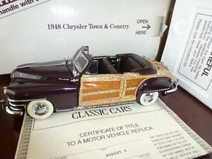 Danbury Mint used diecast car