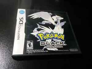 Pokemon Black, for DS, Complete in box .