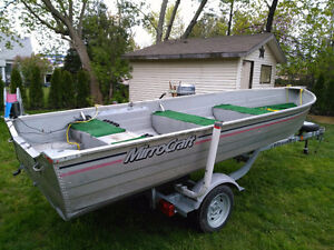 14' Mirrorcraft Aluminum Boat Only