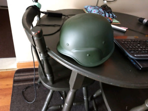 Bike/paintball helmet