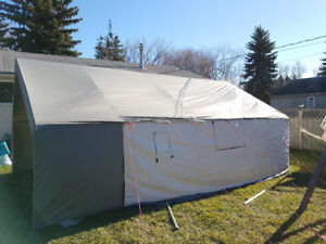 NEW Deluxe Wall Tents