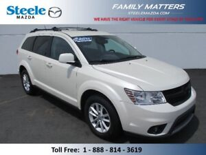 2014 DODGE JOURNEY SXT V6 (INCLUDES A NO CHARGE WARRANTY)